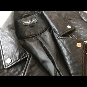 Member's Only New Faux Leather Jacket